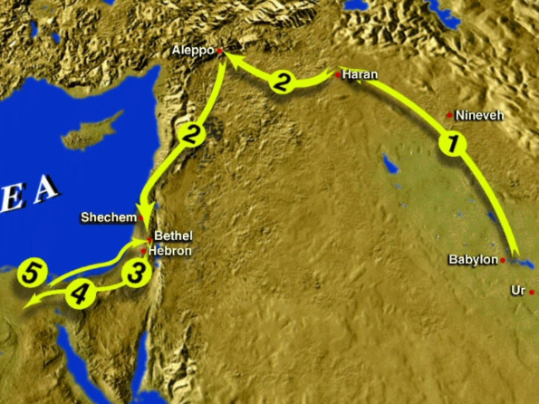 Abrahm's journey